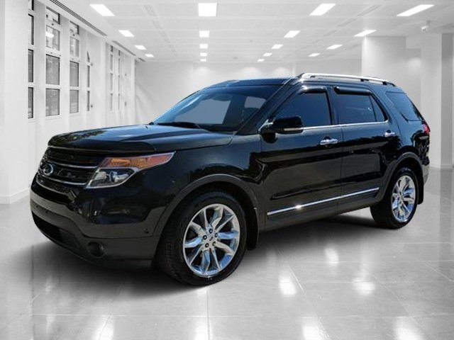2013 Tuxedo Black Metallic Ford Explorer Limited AWD Automatic Gas V6 3.5L/213 Engine 4 Door