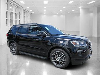 2018 Ford Explorer Sport SUV 4 Door Twin Turbo Premium Unleaded V-6 3.5 L/213 Engine AWD Automatic