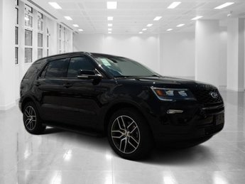 2018 Shadow Black Ford Explorer Sport Automatic Twin Turbo Premium Unleaded V-6 3.5 L/213 Engine AWD SUV 4 Door