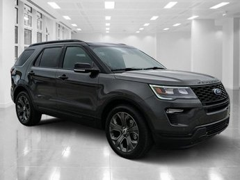 2018 Magnetic Metallic Ford Explorer Sport 4 Door Twin Turbo Premium Unleaded V-6 3.5 L/213 Engine Automatic AWD