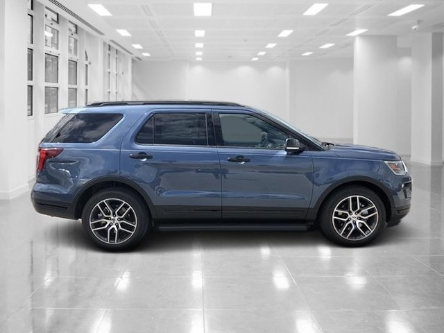 2018 Ford Explorer Sport SUV 4 Door Twin Turbo Premium Unleaded V-6 3.5 L/213 Engine Automatic AWD