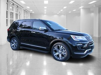 2018 Ford Explorer Platinum 4 Door Twin Turbo Premium Unleaded V-6 3.5 L/213 Engine Automatic