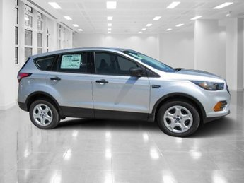 2018 Ingot Silver Metallic Ford Escape S Automatic SUV FWD
