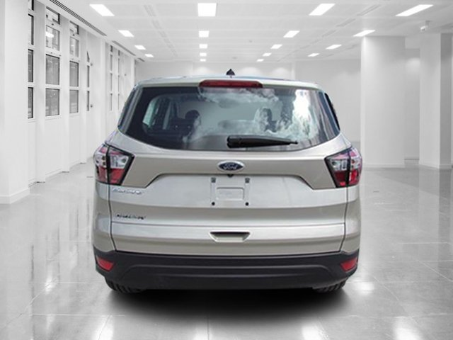 2018 White Gold Metallic Ford Escape S 4 Door SUV FWD Regular Unleaded I-4 2.5 L/152 Engine Automatic