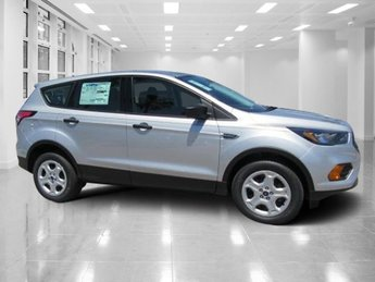 2018 Ingot Silver Metallic Ford Escape S Regular Unleaded I-4 2.5 L/152 Engine 4 Door Automatic SUV