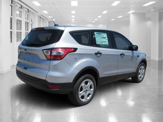 2018 Ingot Silver Metallic Ford Escape S 4 Door Regular Unleaded I-4 2.5 L/152 Engine FWD Automatic SUV
