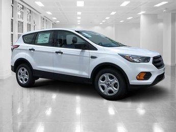 2018 Oxford White Ford Escape S SUV Regular Unleaded I-4 2.5 L/152 Engine Automatic 4 Door FWD