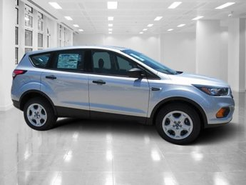2018 Ingot Silver Metallic Ford Escape S FWD SUV Regular Unleaded I-4 2.5 L/152 Engine Automatic 4 Door