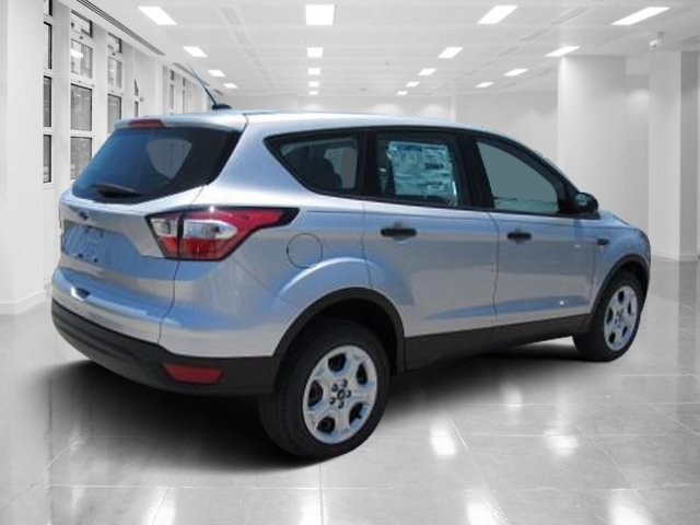 2018 Ingot Silver Metallic Ford Escape S FWD 4 Door Regular Unleaded I-4 2.5 L/152 Engine SUV Automatic