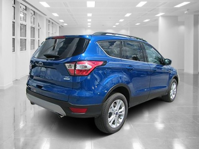 2018 Lightning Blue Metallic Ford Escape SE 4 Door Automatic SUV Intercooled Turbo Regular Unleaded I-4 1.5 L/91 Engine FWD