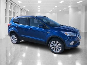 2019 Lightning Blue Metallic Ford Escape SEL SUV 4 Door Automatic Intercooled Turbo Regular Unleaded I-4 1.5 L/92 Engine FWD