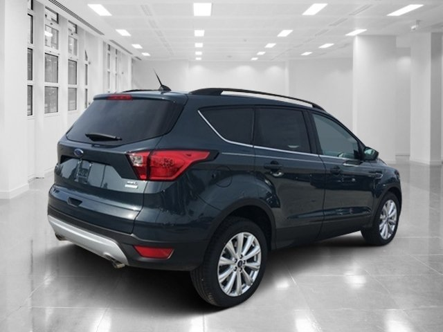 2019 Baltic Sea Green Metallic Ford Escape SEL SUV Automatic FWD 4 Door