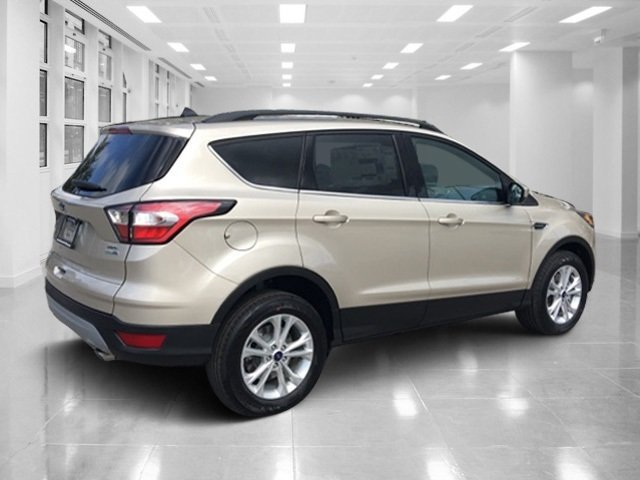 2018 White Gold Metallic Ford Escape SEL SUV Automatic 4 Door Intercooled Turbo Regular Unleaded I-4 1.5 L/91 Engine 4X4