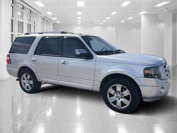 2010 Ingot Silver Metallic Ford Expedition Limited Automatic RWD Gas/Ethanol V8 5.4L/330 Engine SUV 4 Door