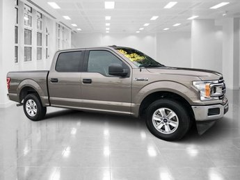 2018 Stone Gray Ford F-150 XLT RWD Truck Automatic Regular Unleaded V-8 5.0 L/302 Engine