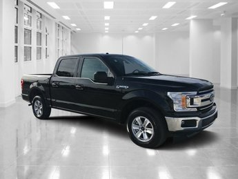 2018 Shadow Black Ford F-150 XLT 4 Door RWD Automatic Truck Regular Unleaded V-8 5.0 L/302 Engine