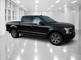2018 Shadow Black Ford F-150 XLT 4 Door RWD Automatic