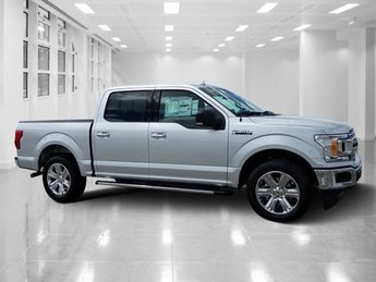 2018 Ingot Silver Metallic Ford F-150 XLT Regular Unleaded V-8 5.0 L/302 Engine Truck 4 Door Automatic