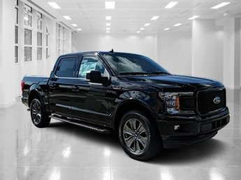 2018 Shadow Black Ford F-150 XLT Twin Turbo Regular Unleaded V-6 3.5 L/213 Engine 4 Door Automatic Truck