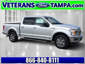 2018 Ingot Silver Metallic Ford F-150 XLT Truck 4 Door Twin Turbo Regular Unleaded V-6 3.5 L/213 Engine RWD Automatic