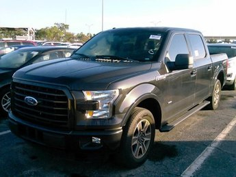 2015 Tuxedo Black Metallic Ford F-150 XLT Twin Turbo Regular Unleaded V-6 2.7 L/164 Engine Automatic 4 Door RWD