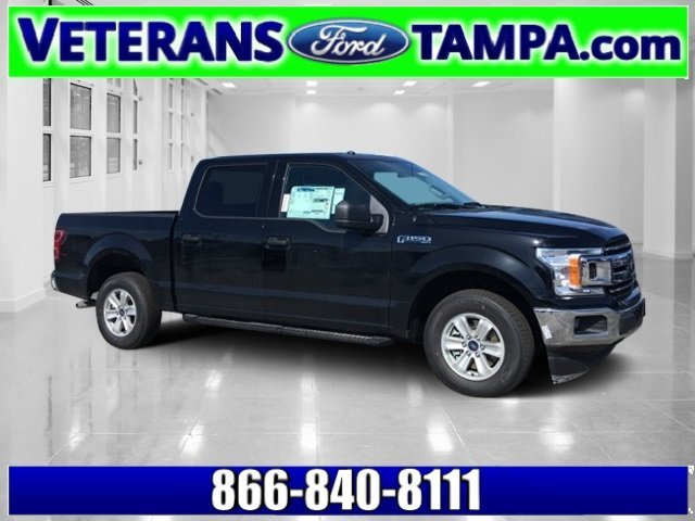 2018 Shadow Black Ford F-150 XLT EcoBoost 2.7L V6 GTDi DOHC 24V Twin Turbocharged Engine 4 Door RWD