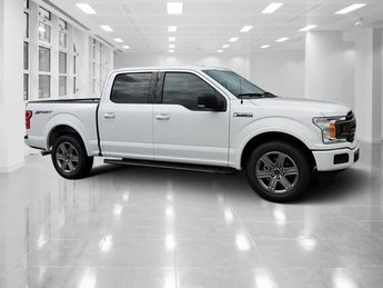 2018 Oxford White Ford F-150 XLT Truck Twin Turbo Regular Unleaded V-6 2.7 L/164 Engine 4 Door Automatic RWD