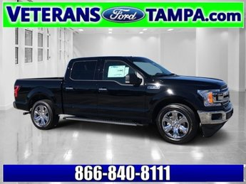 2018 Shadow Black Ford F-150 XLT Automatic Truck Twin Turbo Regular Unleaded V-6 2.7 L/164 Engine