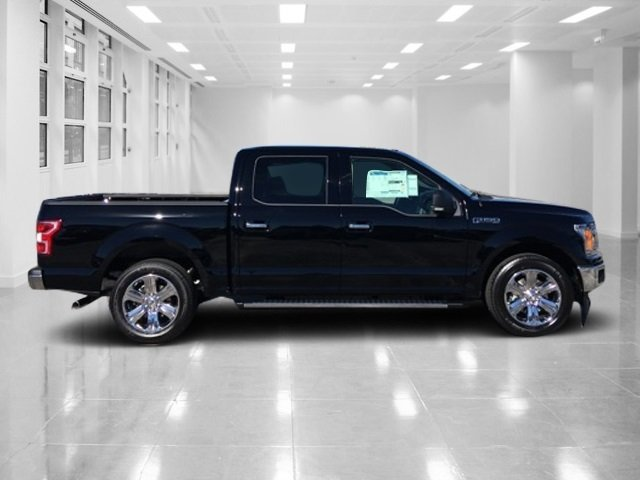 2018 Shadow Black Ford F-150 XLT Automatic Truck 4 Door RWD Twin Turbo Regular Unleaded V-6 2.7 L/164 Engine