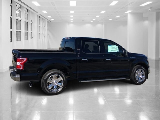 2018 Shadow Black Ford F-150 XLT Twin Turbo Regular Unleaded V-6 2.7 L/164 Engine Truck Automatic