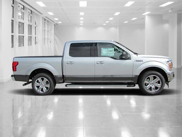 2018 Ingot Silver Metallic Ford F-150 XLT Automatic RWD Truck Twin Turbo Regular Unleaded V-6 2.7 L/164 Engine