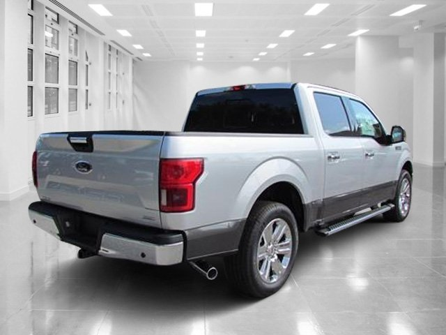 2018 Ingot Silver Metallic Ford F-150 XLT Automatic 4 Door RWD Twin Turbo Regular Unleaded V-6 2.7 L/164 Engine