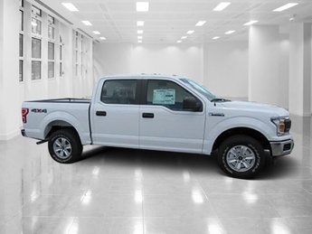 2018 Oxford White Ford F-150 XL 4X4 4 Door Automatic Truck Regular Unleaded V-8 5.0 L/302 Engine
