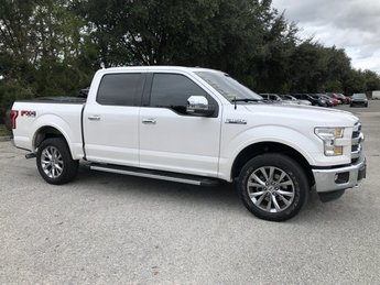 2016 Ford F-150 Lariat 4X4 Automatic 4 Door Truck Regular Unleaded V-8 5.0 L/302 Engine