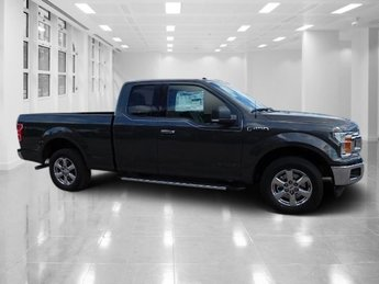 2018 Magnetic Metallic Ford F-150 XLT Automatic Regular Unleaded V-6 3.3 L Engine RWD