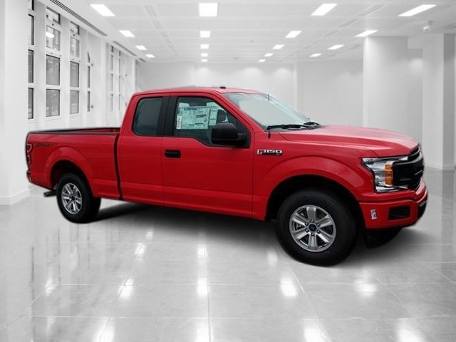 2018 Race Red Ford F-150 XL Automatic RWD Truck Regular Unleaded V-6 3.3 L Engine 4 Door