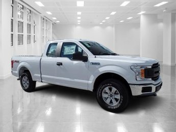 2018 Oxford White Ford F-150 XL Twin Turbo Regular Unleaded V-6 2.7 L/164 Engine Truck Automatic 4 Door