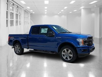 2018 Lightning Blue Ford F-150 XLT Truck Twin Turbo Regular Unleaded V-6 2.7 L/164 Engine 4 Door