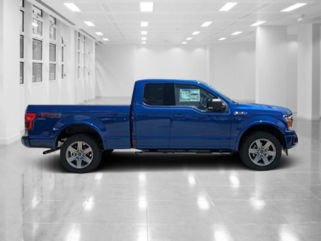 2018 Lightning Blue Ford F-150 XLT 4X4 Twin Turbo Regular Unleaded V-6 2.7 L/164 Engine Truck Automatic 4 Door