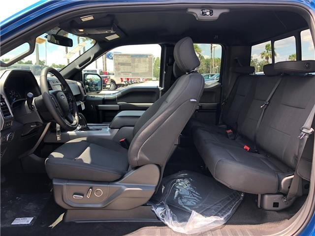 2018 Lightning Blue Ford F-150 XLT Twin Turbo Regular Unleaded V-6 2.7 L/164 Engine Automatic 4 Door