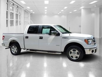 2014 Oxford White Ford F-150 XLT 4 Door Truck Twin Turbo Regular Unleaded V-6 3.5 L/213 Engine RWD Automatic