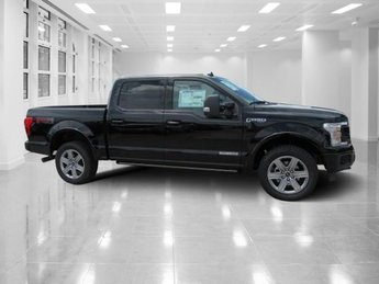 2018 Shadow Black Ford F-150 Lariat 4X4 4 Door Intercooled Turbo Diesel V-6 3.0 L Engine