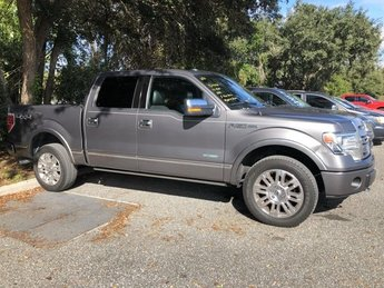2013 Ford F-150 Platinum Truck Automatic 4X4 Turbocharged Gas V6 3.5L/213 Engine 4 Door