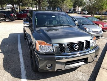 2012 Nissan Titan SL Automatic 4 Door Gas/Ethanol V8 5.6L/ Engine