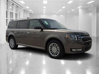 2019 Stone Gray Metallic Ford Flex SEL SUV FWD Automatic Regular Unleaded V-6 3.5 L/213 Engine 4 Door