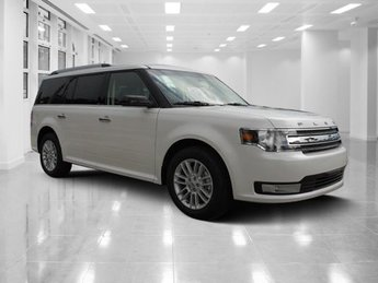 2019 White Platinum Clearcoat Metallic Ford Flex SEL SUV FWD Automatic Regular Unleaded V-6 3.5 L/213 Engine 4 Door