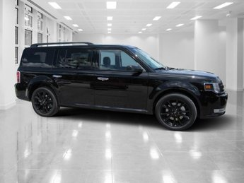 2019 Agate Black Ford Flex SEL FWD 4 Door Automatic SUV Regular Unleaded V-6 3.5 L/213 Engine