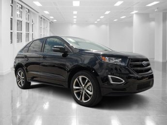 2018 Shadow Black Ford Edge Sport 4 Door AWD SUV Twin Turbo Premium Unleaded V-6 2.7 L/164 Engine Automatic