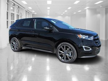 2018 Shadow Black Ford Edge Sport SUV 4 Door Twin Turbo Premium Unleaded V-6 2.7 L/164 Engine Automatic