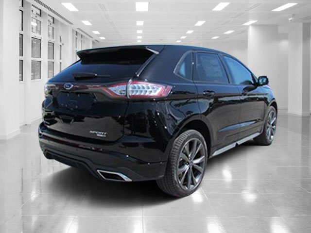 2018 Shadow Black Ford Edge Sport AWD Automatic Twin Turbo Premium Unleaded V-6 2.7 L/164 Engine 4 Door SUV